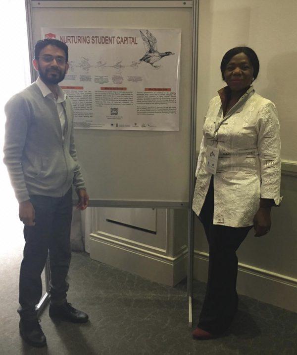 Prof Nakhooda and Thuli Madonsela at Stellenbosch T&L conference 2019